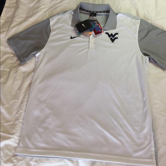 862116c51 Nike Shirts | Collegiate West Virginia University Polo | Poshmark
